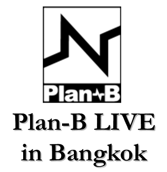 (Logo 01) Plan-B LIVE in Bangkok