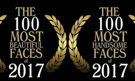 100 อันดับหนุ่มหล่อสาวสวยที่สุดในโลก ประจำปี 2017 จัดอันดับโดย TC Candler