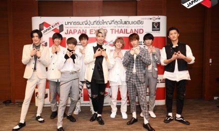 เก้าหนุ่ม SNOW MAN โกยหัวใจสื่อมวลชนไทย  ให้สัมภาษณ์สุดพิเศษ ก่อนพบแฟนคลับวันนี้ บนเวทีระดับนานาชาติ JAPAN EXPO THAILAND 2020
