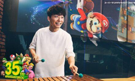 """Hoshino Gen ร่วมแสดงโฆษณา  """"Super Mario Bros"""" เพื่อฉลองครบรอบ 35 ปี ของเกม Super Mario"""